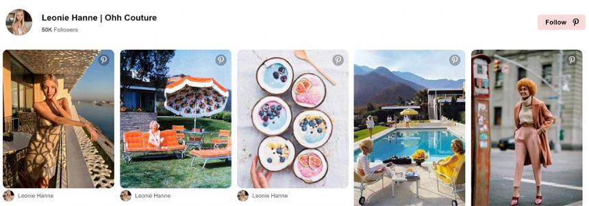 Free social media feeds for Pinterest