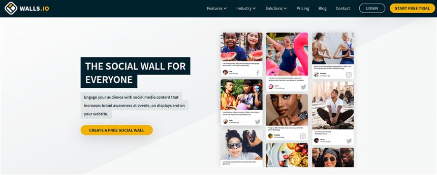 Walls.io aggregator